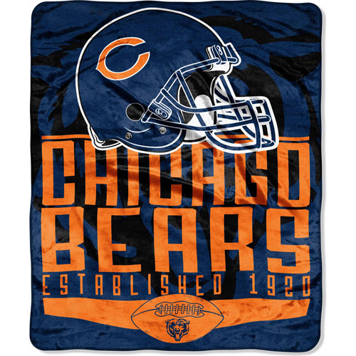 """Nfl  55"""" X 70"""" Silk Touch Throw Franchis"""