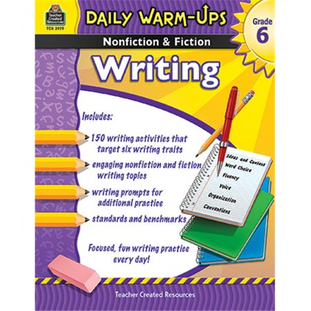 Daily Warm Ups Gr 6 Nonfiction and Fiction Writing Book (Daily Warm Ups)