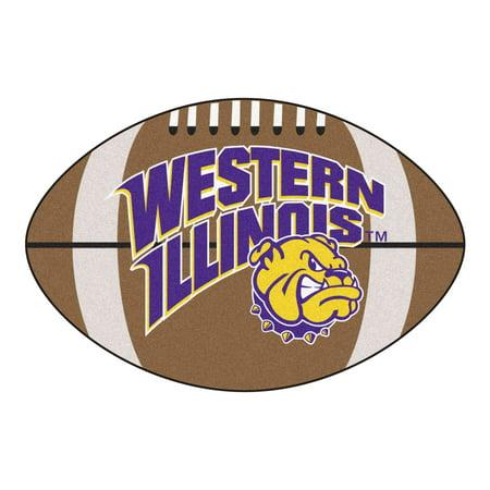 Western Illinois Football Rug
