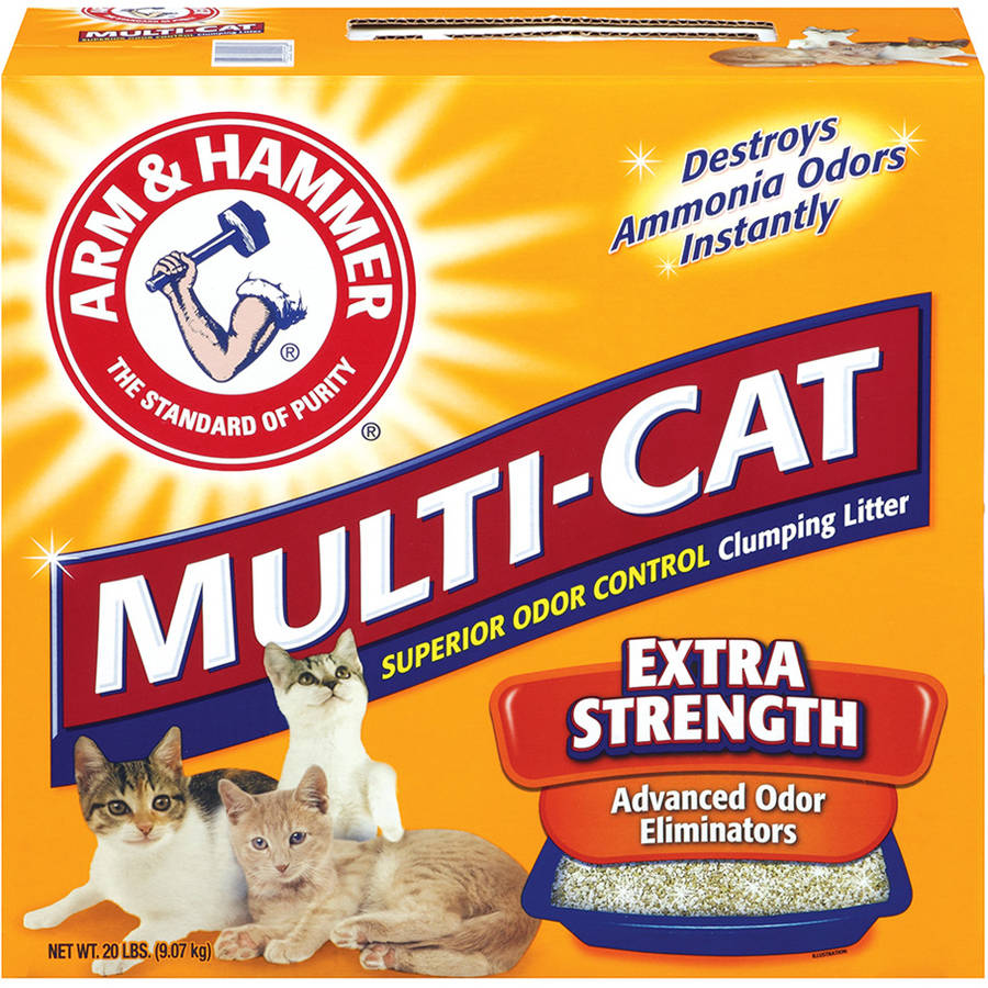 Arm & Hammer Multi-Cat Extra Strength Clumping Cat Litter 20 lb.