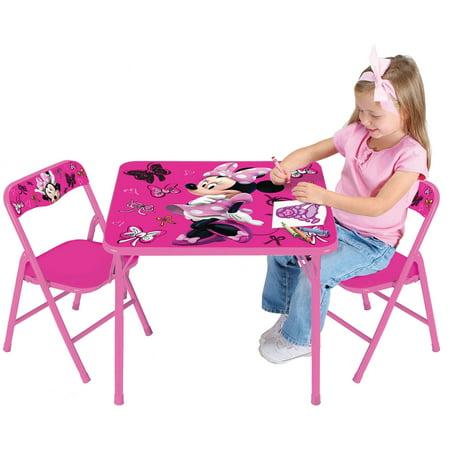 Disney Minnie Mouse First Fashionista Activity Table Set - Walmart.com
