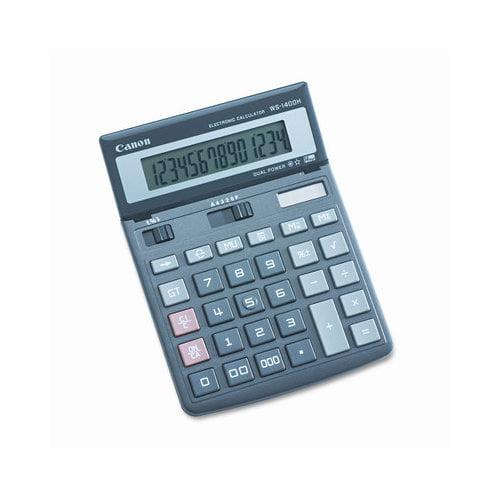 Canon 14-Digit LCD Minidesk Calculator