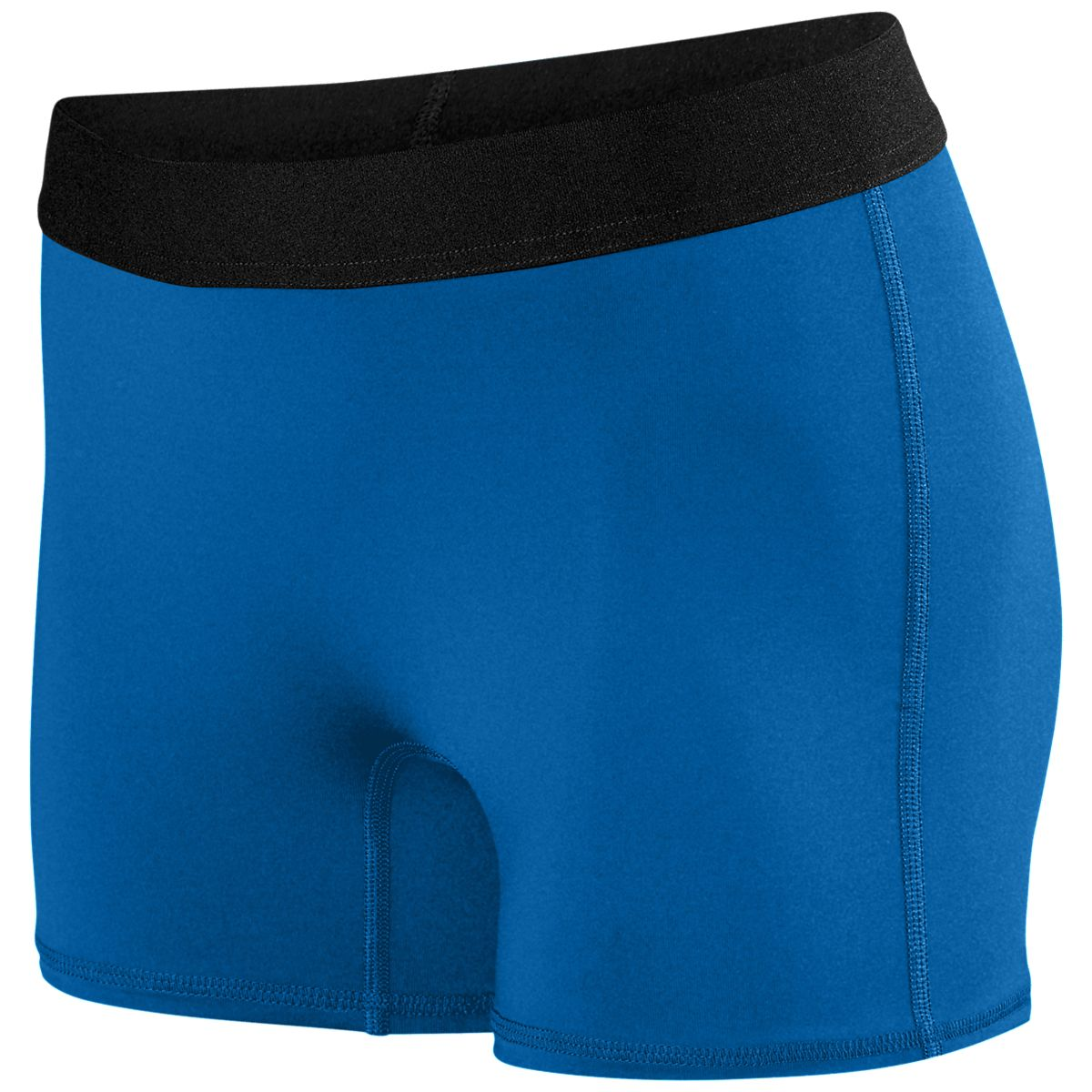 Augusta Ladies Hyperform Fitted Short Royal Xs - image 1 of 1