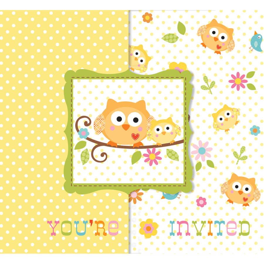 Happi Tree Invitations, 25pk