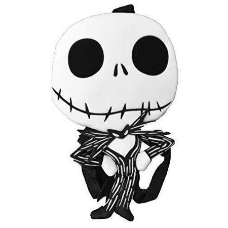 Nightmare Before Christmas Images Black And White.Disney Nightmare Before Christmas Jack Skellington Plush Toy Backpack