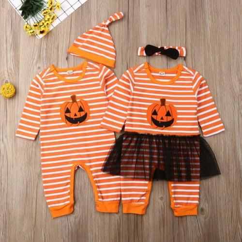 inktastic Melting Away Pumpkin Face Infant Tutu Bodysuit