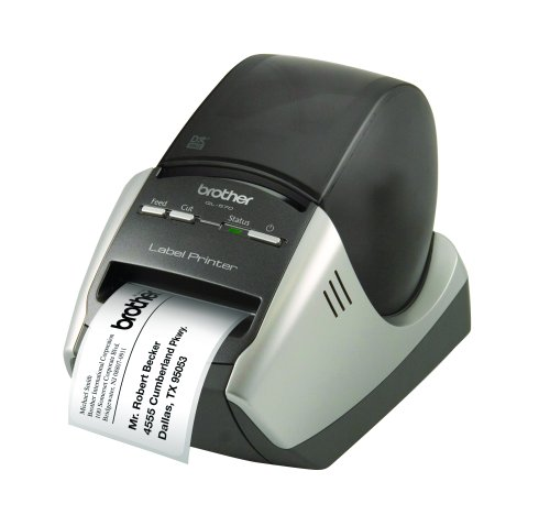 Brother Professional High Resolution Label Printer with P-Touch Software - QL570