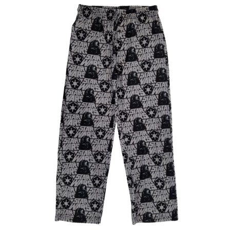 Star Wars Darth Vader Empire Mens Gray Flannel Sleep Pants Pajama (The Man In The Gray Flannel Suit Novel)