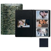 Raika RM 127 NAVY 4 x 6 Three High Photo Album - Navy