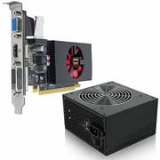 AMD Radeon R7 240 2GB GDDR3 PCI Express 3.0 Graphics Card with 350W Power Supply, Bundle Only