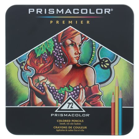 Prismacolor Colored Pencils | Premier Soft Core Pencils, Assorted, 72