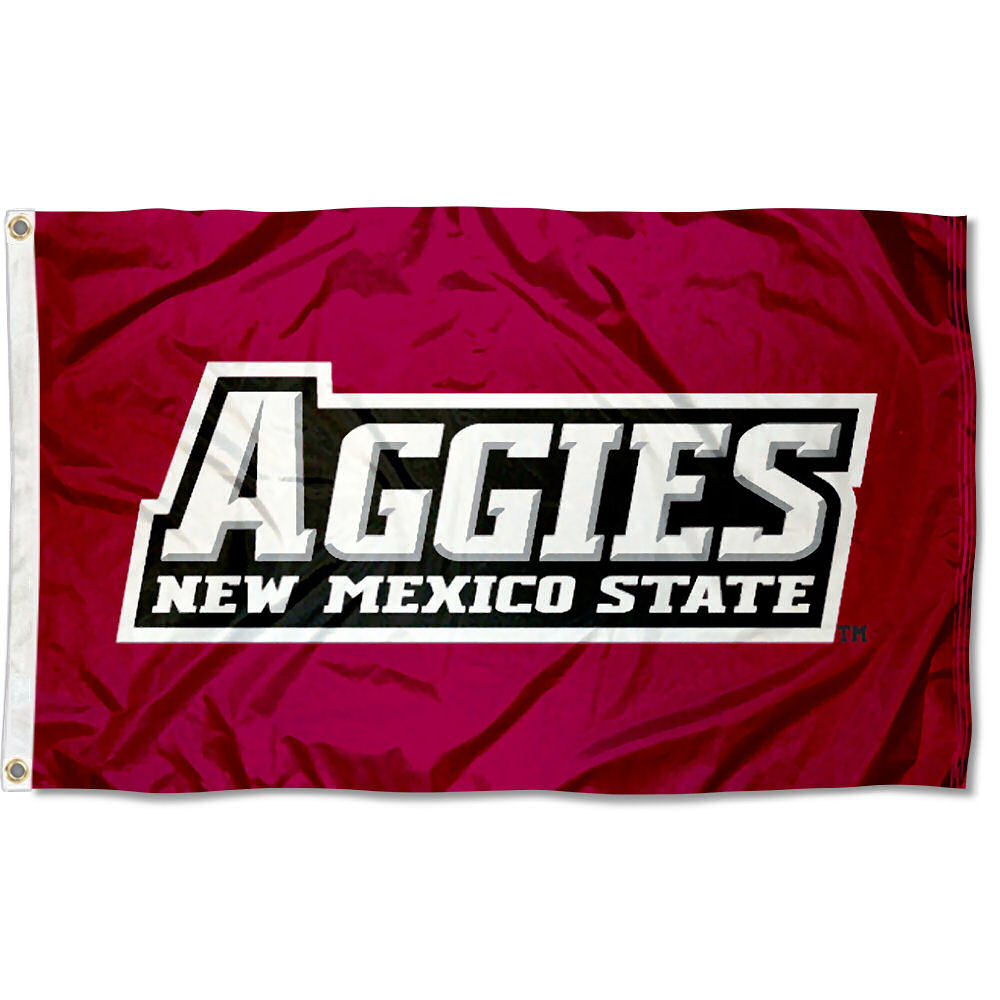 New Mexico State Aggies NMSU University College House Flag