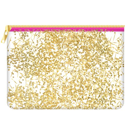 Slant Face Pouch - Slant Cosmetic Bag Pouch Canvas 8