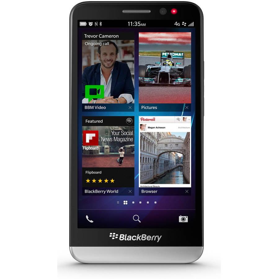 BlackBerry Z30 STA100-5 16GB GSM 4G LTE Smartphone (Unlocked), Black