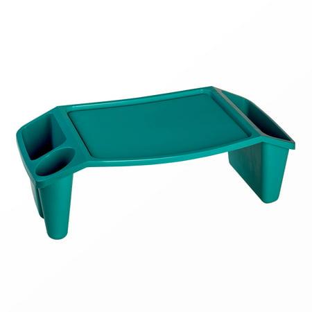 - Multi-Purpose Large Turquoise Lap Tray, 1 Each