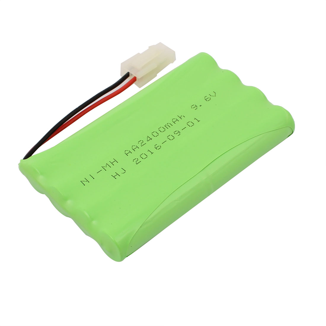 Unique Bargains Green DC 9.6V 2400mAh Rechargable Ni-MH AA Battery Pack for RC Airplane Aircraft