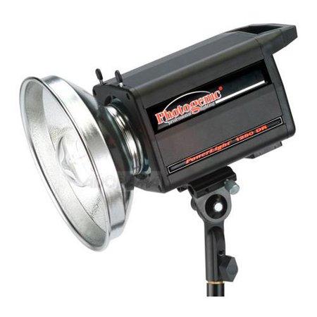 Photogenic Flashtube (Photogenic PowerLight 1250DR, 500ws Monolight with Digital Display & UV Coated Flashtube Color-Corrected)
