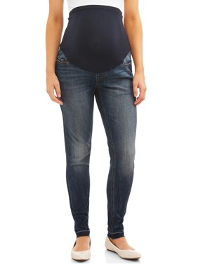 Time and Tru Maternity Skinny Jean with Released Hem