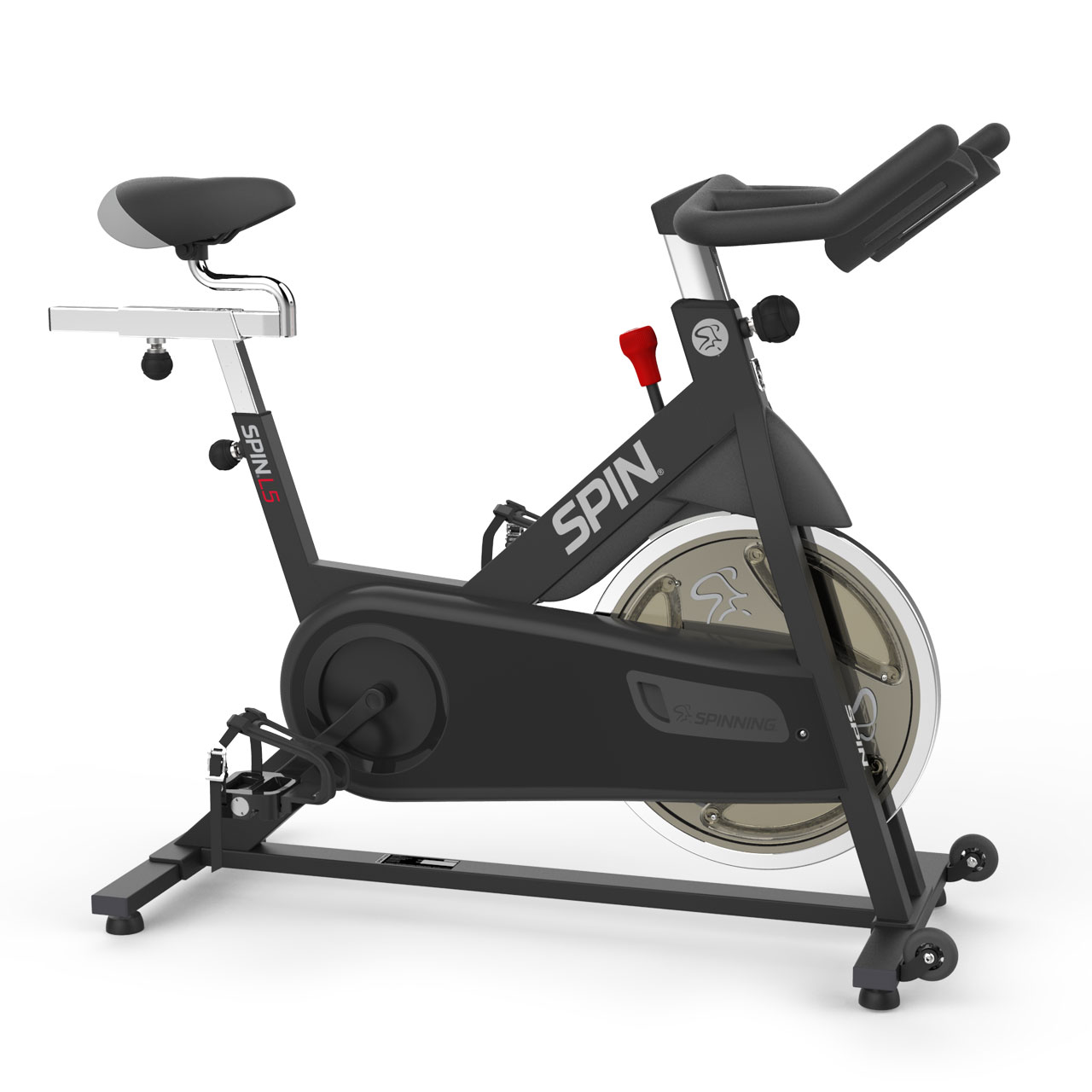SPINNER L5 Spin Bike x 4 DVDs Exercise Bike by Mad Dogg