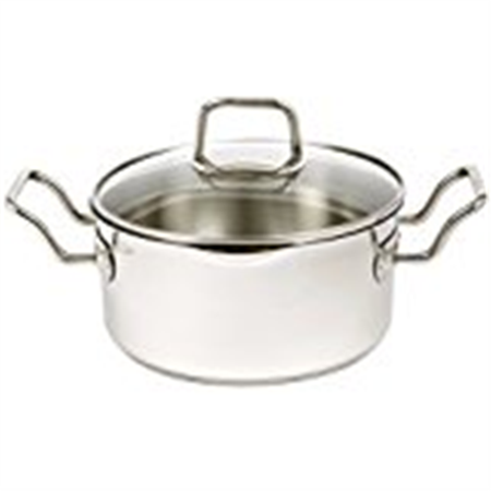 - Norpro KRONA 3 Quart Vented Pot with Straining Lid