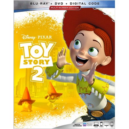 Toy Story 2 (Blu-ray + DVD + Digital)](Toy Story Halloween Vhs)