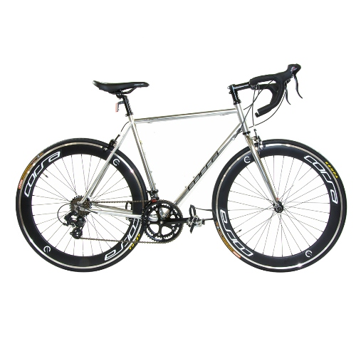 Road Bike by Corsa - 20.5'' Chrome Silver R14D