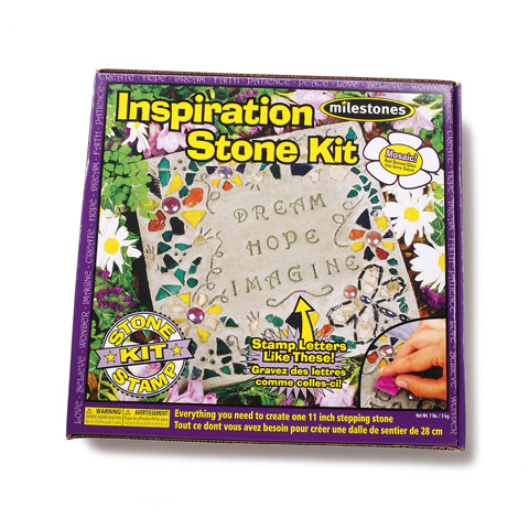 Milestones Inspiration Stepping Stone Kit: Makes 1