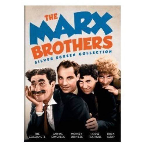 The Marx Brothers Silver Screen Collection: The Cocoanuts / Animal Crackers / Monkey Business / Horse Feathers / Duck Soup