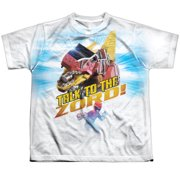 Power Rangers - Talk To Zord - Youth Short Sleeve Shirt - Medium