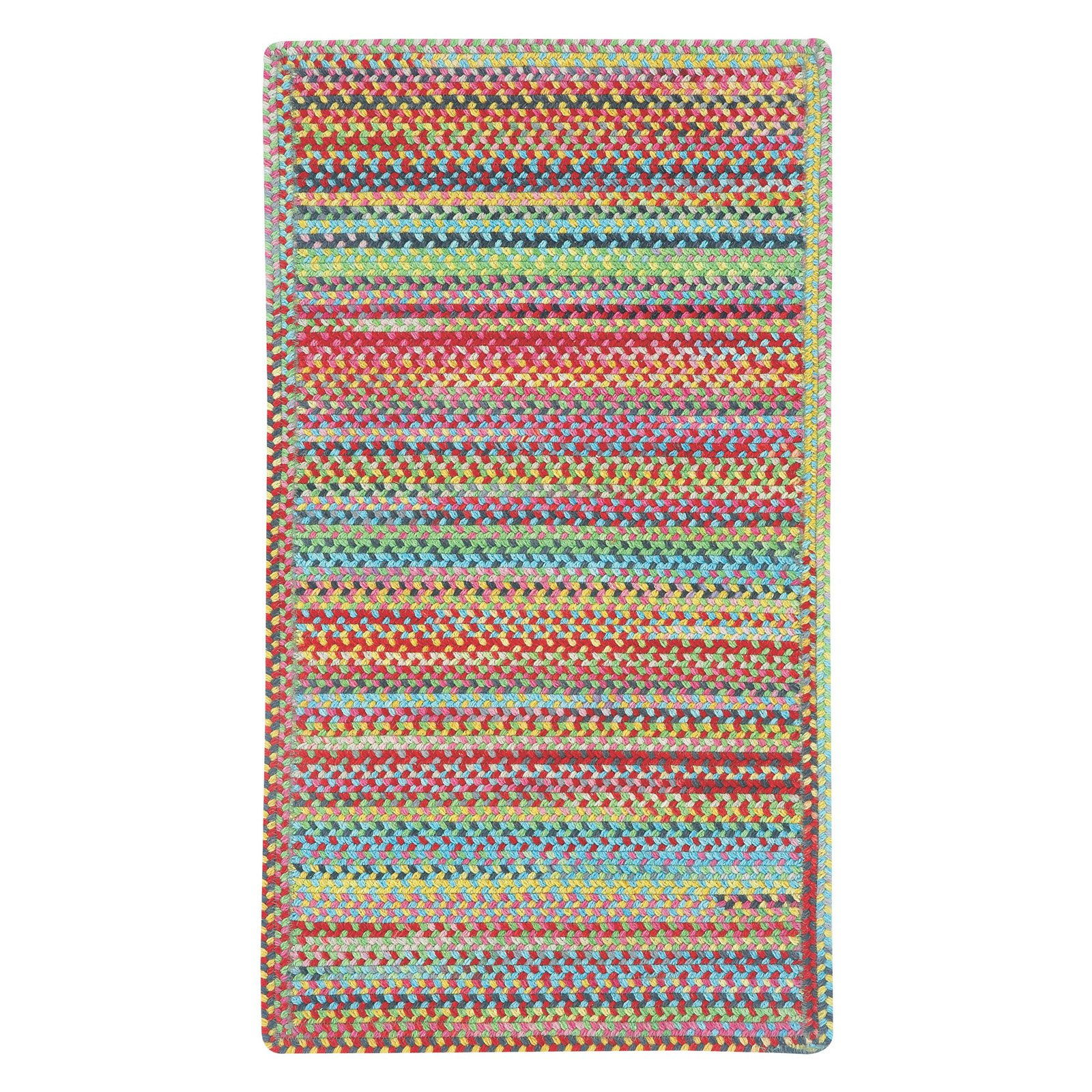 Capel Rugs Migration 0208XS Braided Indoor Area Rug