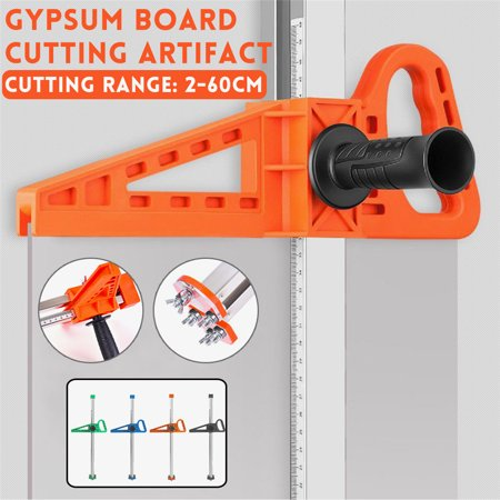 20-600mm Manual Gypsum Board Cutter Hand Push Drywall Easy Ripping Artifact Cutting Tool Kit