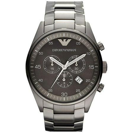 timeless design b4662 4f7b5 Emporio Armani Sportivo Chronograph Mens Stainless Steel Watch AR5964