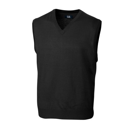 Cutter & Buck Douglas V-neck Vest MCS01432 Cutter & Buck Microfiber Vest