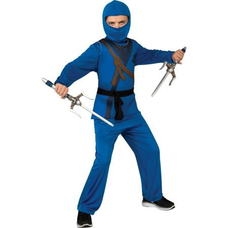 Halloween Kids Blue Ninja Child Costume](Blue Ninja)