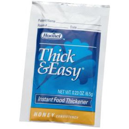 Thick & Easy Instant Food & Beverage Thickener, Honey, 6.5 Gram Packets Model #: HM20223 Qty of 100