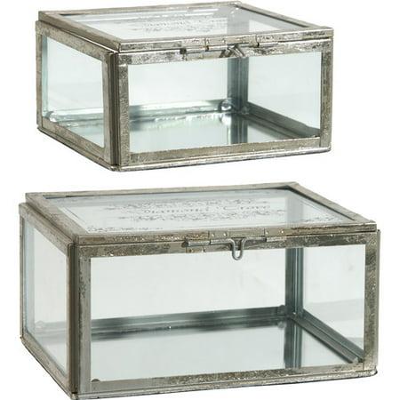 One Allium Way Trinket 2 Piece Decorative Box Set