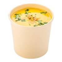 Paper Take-Out Soup Cups - Round - Kraft - 12oz. - Medium - 200 Count Box