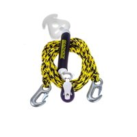 Seachoice Seachoice 86751 Self-Centering Tow Harness, 12 Feet Long, Tows Up to 2 Riders