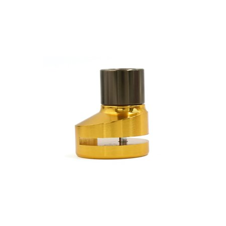 Universal Gold Tone Security Anti Thief Disc Brake Lock for Motorcycle Wheel - image 2 of 3