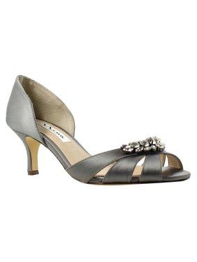 Nina Womens Cylinda-Ys-046 MetalDust Slides Size 5