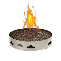 Napoleon GPFP-1 20  Liquid Propane Fire Pit With 5-Piece Patented Glocast Log...