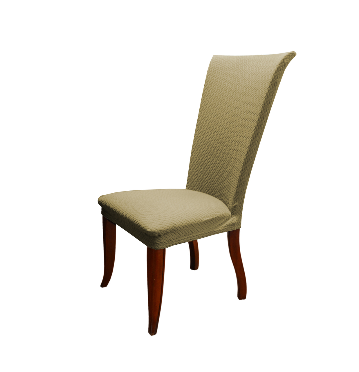 Linen Store Basket Weave Texture Dining Chair Cover