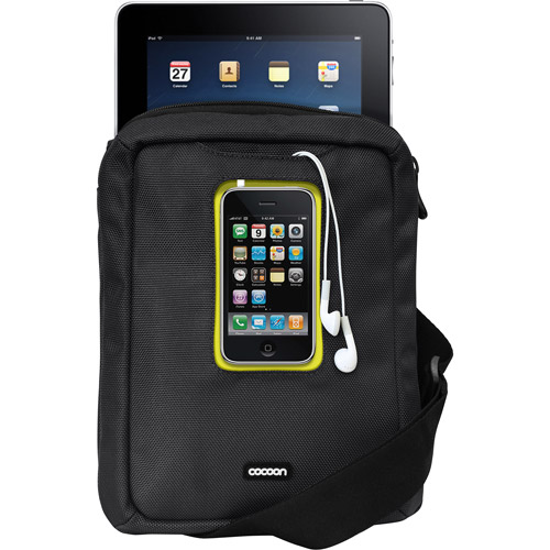 Cocoon Innovations Gramercy iPad Messenger Sling, Black