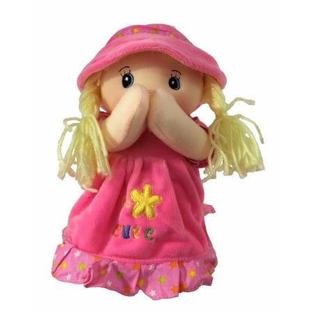 New York La Guardia Airport (Keira Prayer Doll Pink, Recites Angel De La Guardia )