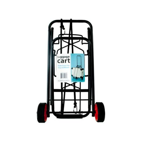 Bulk Buys OC643-1 Portable Folding Luggage Cart