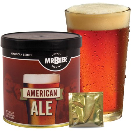 Mr. Beer American Ale Beer Making Refill Kit, 3 Piece (Radeberger Beer)