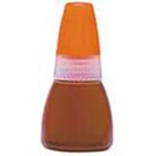 Xstamper 22216 Refill Ink - 20ml Bottle, Orange Brown Bottled Ink Refill