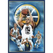 Stephen Curry - Collage Shooting 36x24 36x24 Sports Art Print Poster Superstar Legend