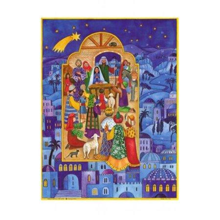 SELL ADV739 Sellmer Advent - Grande fen-tre de la Nativit- - image 1 de 1
