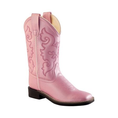 Children's Old West Broad Western Square Toe Boot -